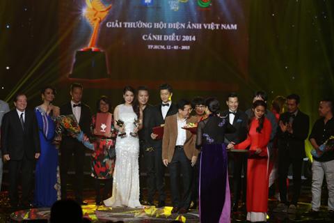 Ba đoàn làm phim được trao giải cánh diều bạc
