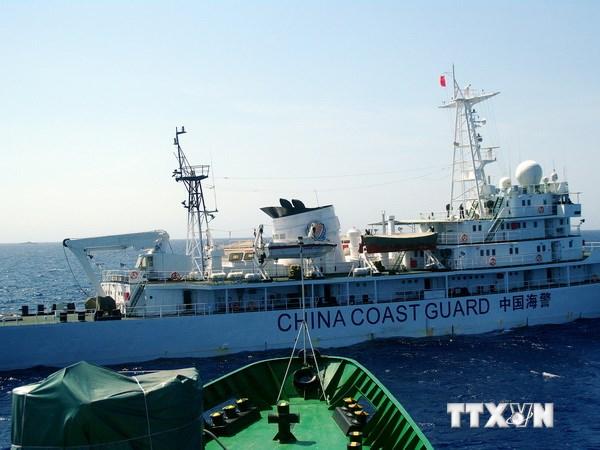 Tàu Trung Quốc chặn tàu Việt Nam