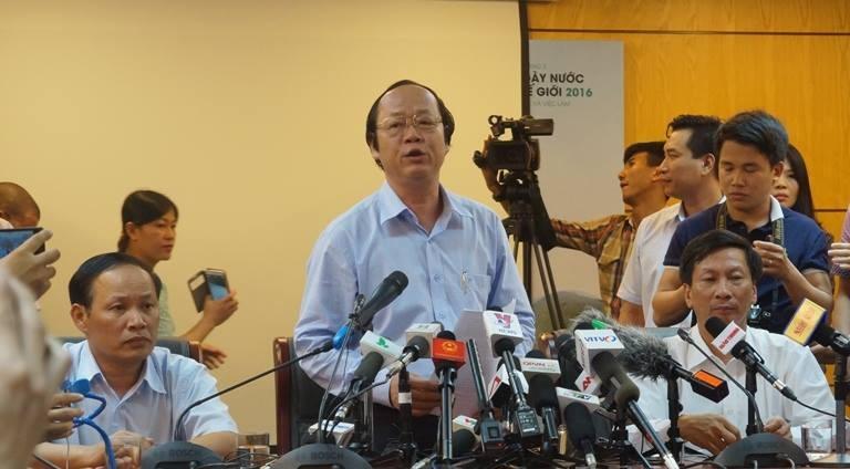 Thứ trưởng Bộ Tài nguyên và Môi trường Võ Tuấn Nhân cho rằng, Formosa vẫn chưa có liên quan gì đến cá chết hàng loạt