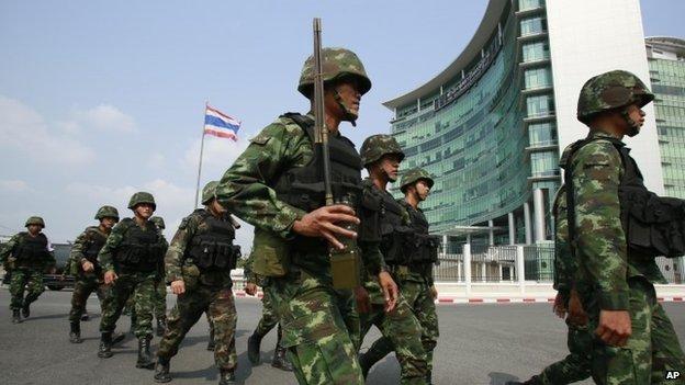 quân đội Thái Lan thiết quân luật