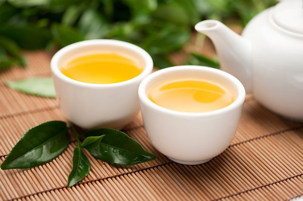 giảm mỡ bụng hiệu quả với trà xanh