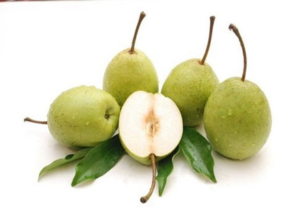 Lê là một trong những loại trái cây ép chín bằng hóa chất