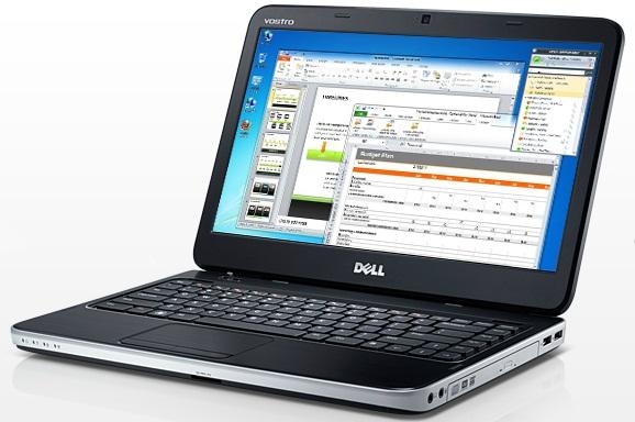 Cấu hình ổn định của laptop giá rẻ đến từ Dell