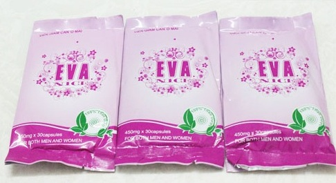 Cục An toàn thực phẩm yêu cầu thanh kiểm tra lưu hành viên nang giảm cân Ô mai EVA nice
