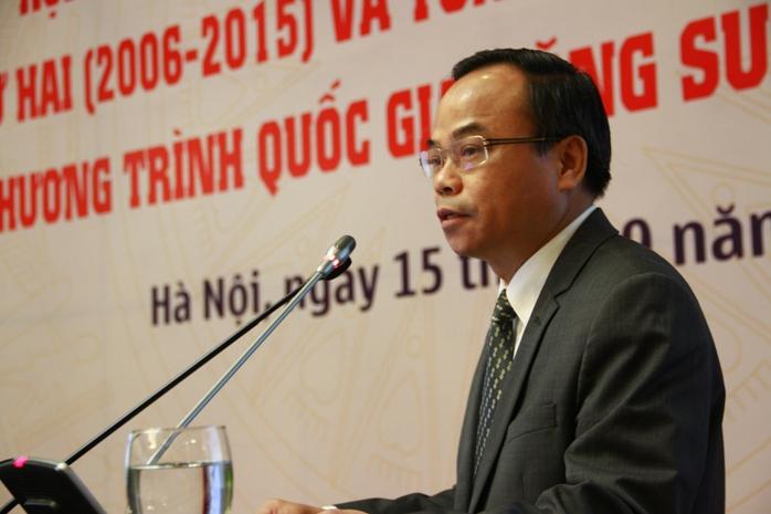 ông Trần Văn Vinh, tổng cục phó tổng cục Tiêu chuẩn đo lường chất lượng