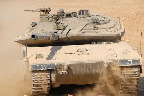 Merkava Mark 4 là vũ khí quân sự biểu tượng sức mạnh quốc phòng nội địa Israel