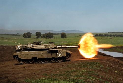 Merkava MK4 được trang bị với các loại vũ khí quân sự đa dạng