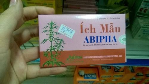 Tuy nhiên trên thực tế, rất nhiều hiệu thuốc và người tiêu dùng ở Hà Nội không hề biết rằng viên nang ích mẫu Abipha đã bị thu hồi tiêu hủy