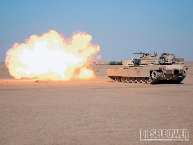 Tăng M1 Abrams - quả đấm thép trên chiến trường