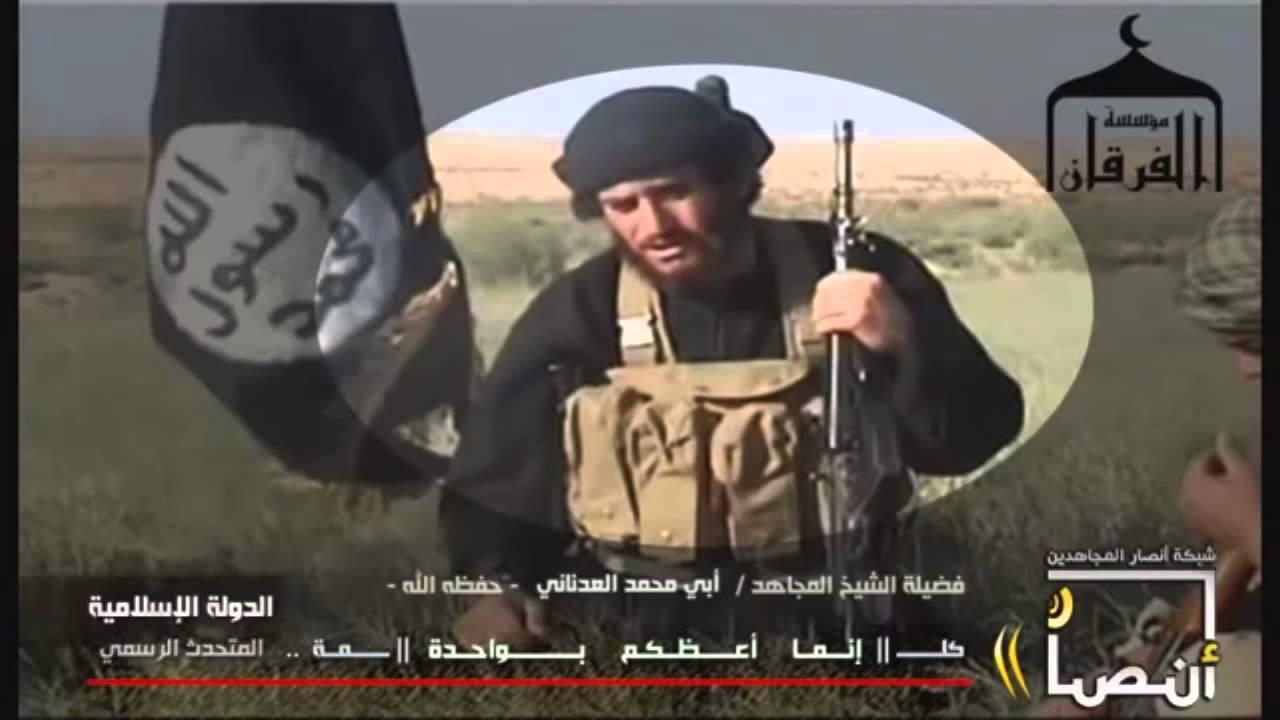 Người đại diện cho ISIS Abu Muhammad al-Adnani đang kêu gọi người Hồi giáo khắp nơi giết nguwofi không theo đạo.