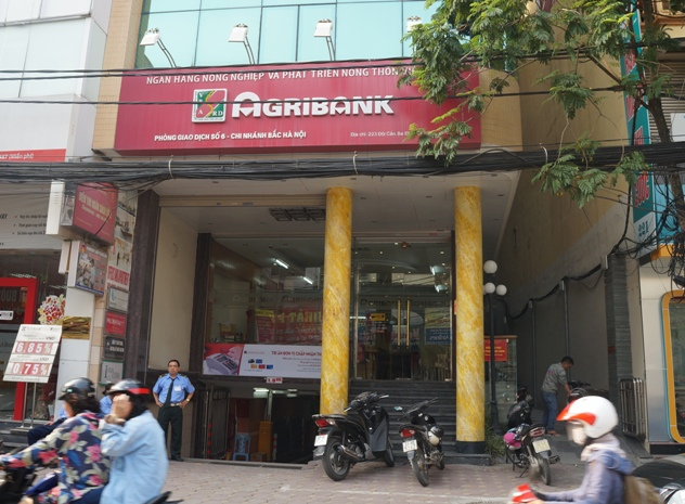 Trụ sở phòng giao dịch số 6 agribank