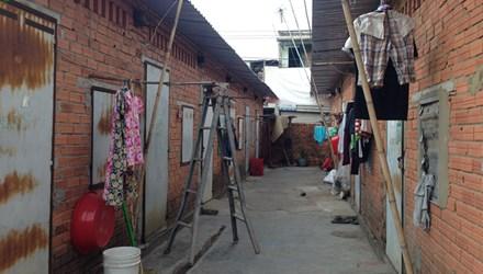 Khu nhà trọ nơi xảy ra vụ án mạng kinh hoàng nói trên nằm ở thị xã Thuận An, Bình Dương