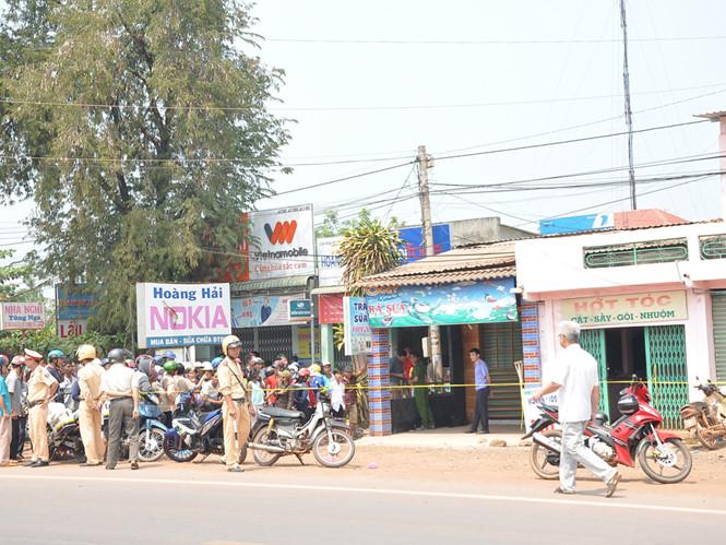 Nơi xảy ra vụ án mạng nghiêm trọng khiến hai vợ chồng 1 người tử vong, 1 người nguy kịch ở Bình Phước