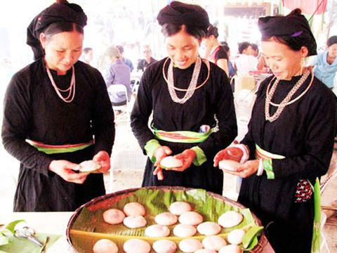 Tục 'ăn Tết lại' là nét đẹp văn hóa của người Tày Bắc Kạn