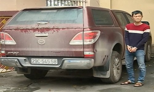 Nguyễn Đức Toàn đã trộm chiếc xe ô tô của... chính mình
