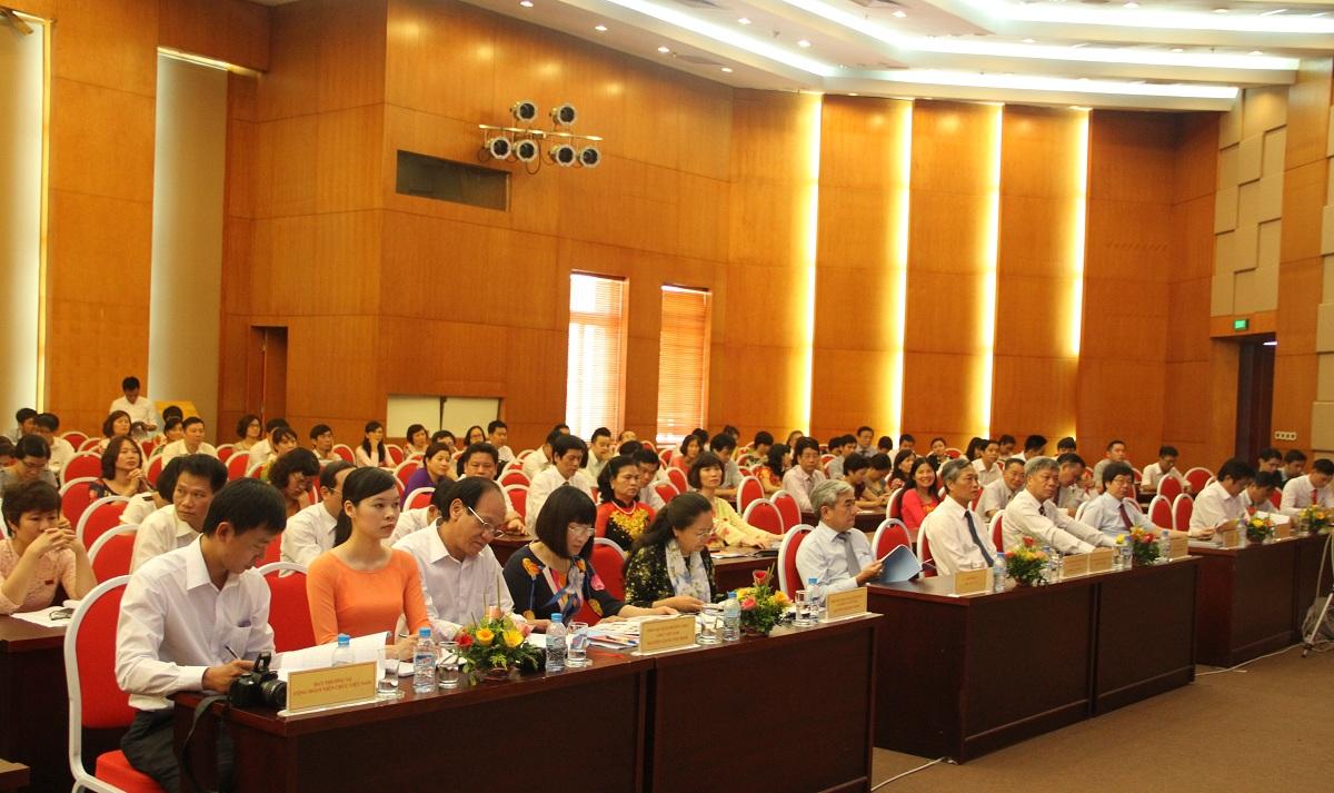 Đại hội Đại biểu Công đoàn Bộ Khoa học và công nghệ lần thứ XVIII, nhiệm kỳ 2015-2020