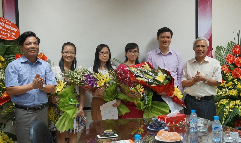 Trao quyết định bổ nhiệm 4 trưởng ban của Tòa soạn