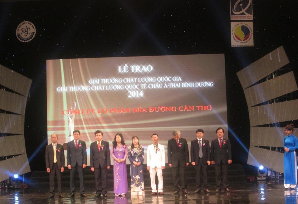 Truyền hình trực tiếp trao Giải thưởng Chất lượng Quốc gia trên VTV1