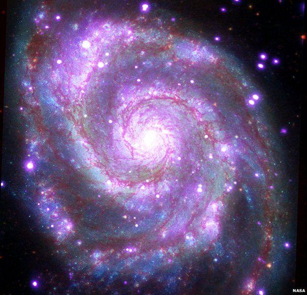 Hình ảnh đẹp ghi lại một trong những thiên hà đẹp nhất vụ trũ có hình xoắn ốc
