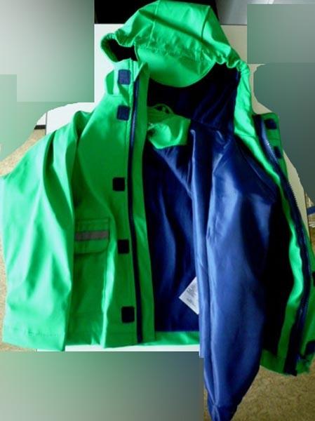Đức đang tiến hành thu hồi sản phẩm áo mưa trẻ em do Trung Quốc sản xuất vì có chứa hóa chất độc hại
