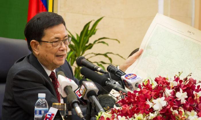 Bộ trưởng phụ trách công tác biên giới Campuchia