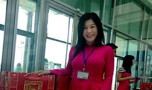 Bà Hà Linh khi còn sống