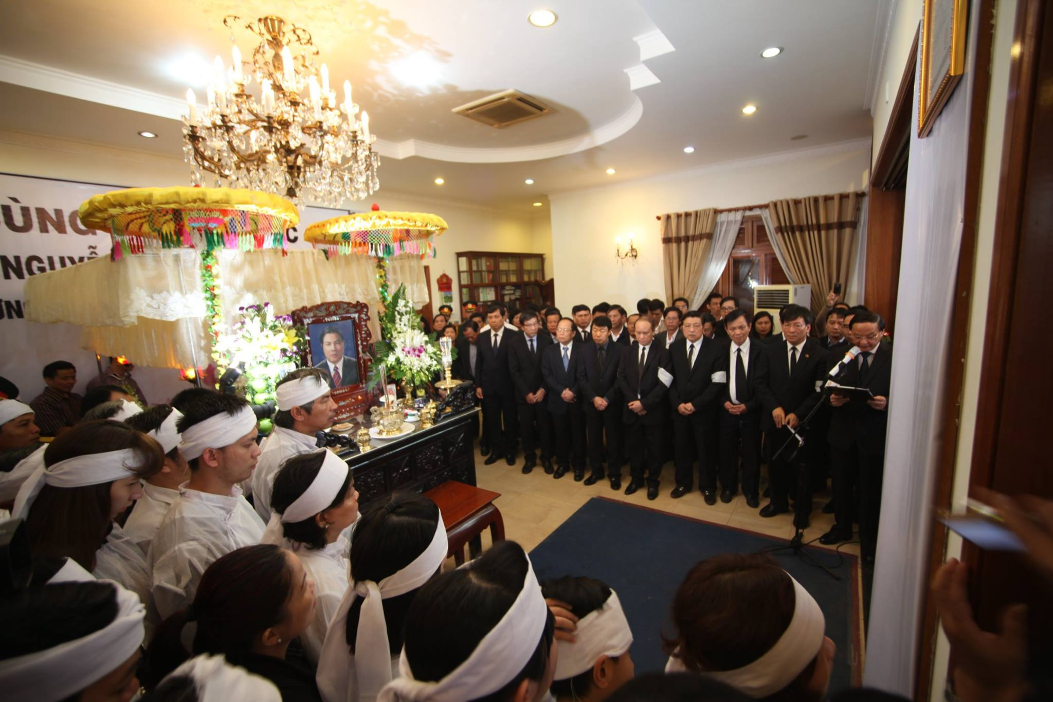 Lễ truy điệu ông Nguyễn Bá Thanh diễn ra trong không khí trang nghiêm, tiếc thương vô hạn