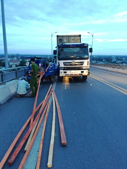 Vụ tai nạn giao thông xảy ra vào sáng ngày 20/6 khiến 1 người thiệt mạng