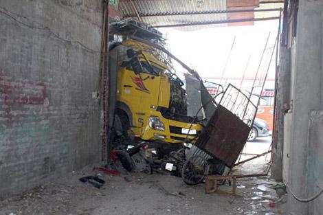vụ tai nạn giao thông này đã suýt cướp đi sinh mạng của 7 người