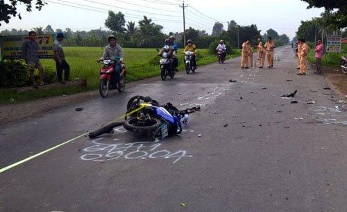 Hiện trường vụ tai nạn giao thông kinh hoàng khiến 3 người tử vong