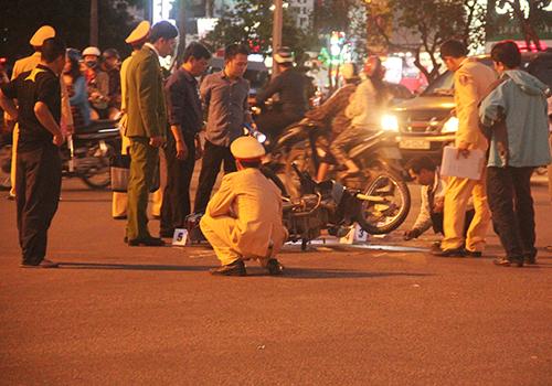 Hiện trường vụ tai nạn giao thông thương tâm khiến bé gái 2 tuổi thiệt mạng