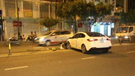 Rất may vụ tai nạn giao thông không gây thương vong về người
