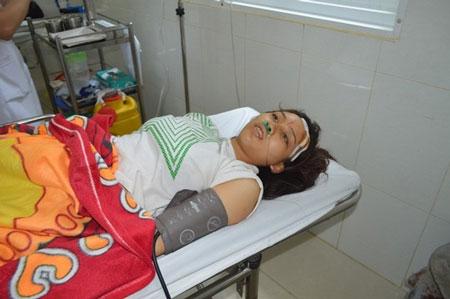 Chị Nguyễn Thị Kim Cúc là nạn nhân duy nhất sống sót sau vụ tai nạn giao thông thảm khốc ở Đắk Lắk