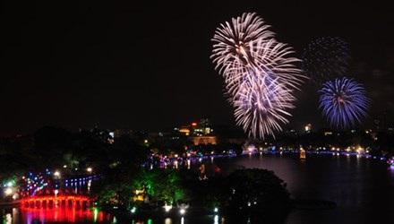 Hà Nội sẽ bắn pháo hoa ở 30 điểm dịp Tết Nguyên đán Ất Mùi 2015
