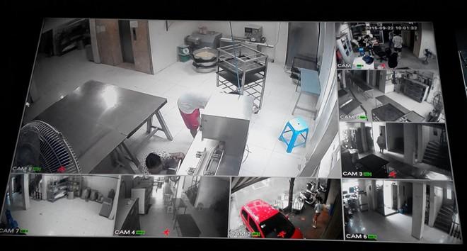 Sự vắng vẻ ở cơ sở bánh Bảo Phương 223 Thụy Khuê vào sáng ngày 22/9