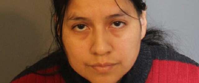 Chân dung bảo mẫu Lidia Quilligana, người đã đánh đập và hành hạ bé gái 3 tuổi bằng bếp lò nóng. Ảnh Pulse