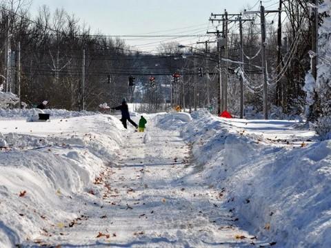 Nhiều trường học, công sở và khu Kinh doanh đã phải đóng cửa từ ngày 26/1.