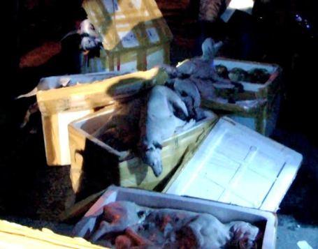 Thực trạng lực lượng chức năng thường xuyên phát hiện thịt bẩn, thịt thối khiến vấn đề vệ sinh an toàn thực phẩm được nhiều người quan tâm