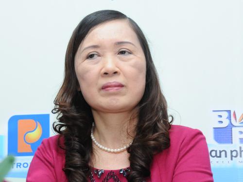 Bà Vũ Thị Hậu - Phó Tổng Giám đốc Công ty Cổ phần Nhất Nam