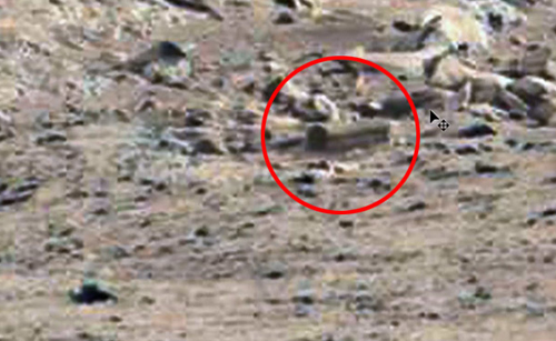 Tìm thấy 'Quan tài' trên bề mặt  sao Hỏa