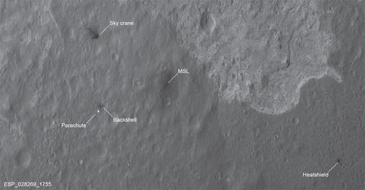 Các nhà khoa học NASA giải mã vệt đen bí ẩn trên bề mặt Sao Hỏa