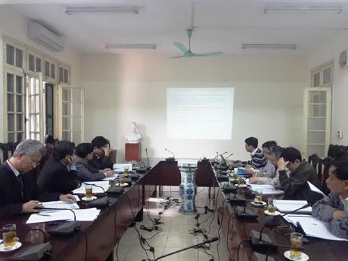 Hội nghị nghiên cứu khả năng sử dụng tro bay làm phụ gia sản xuất bê tông ở Việt Nam hồi tháng 1/2015