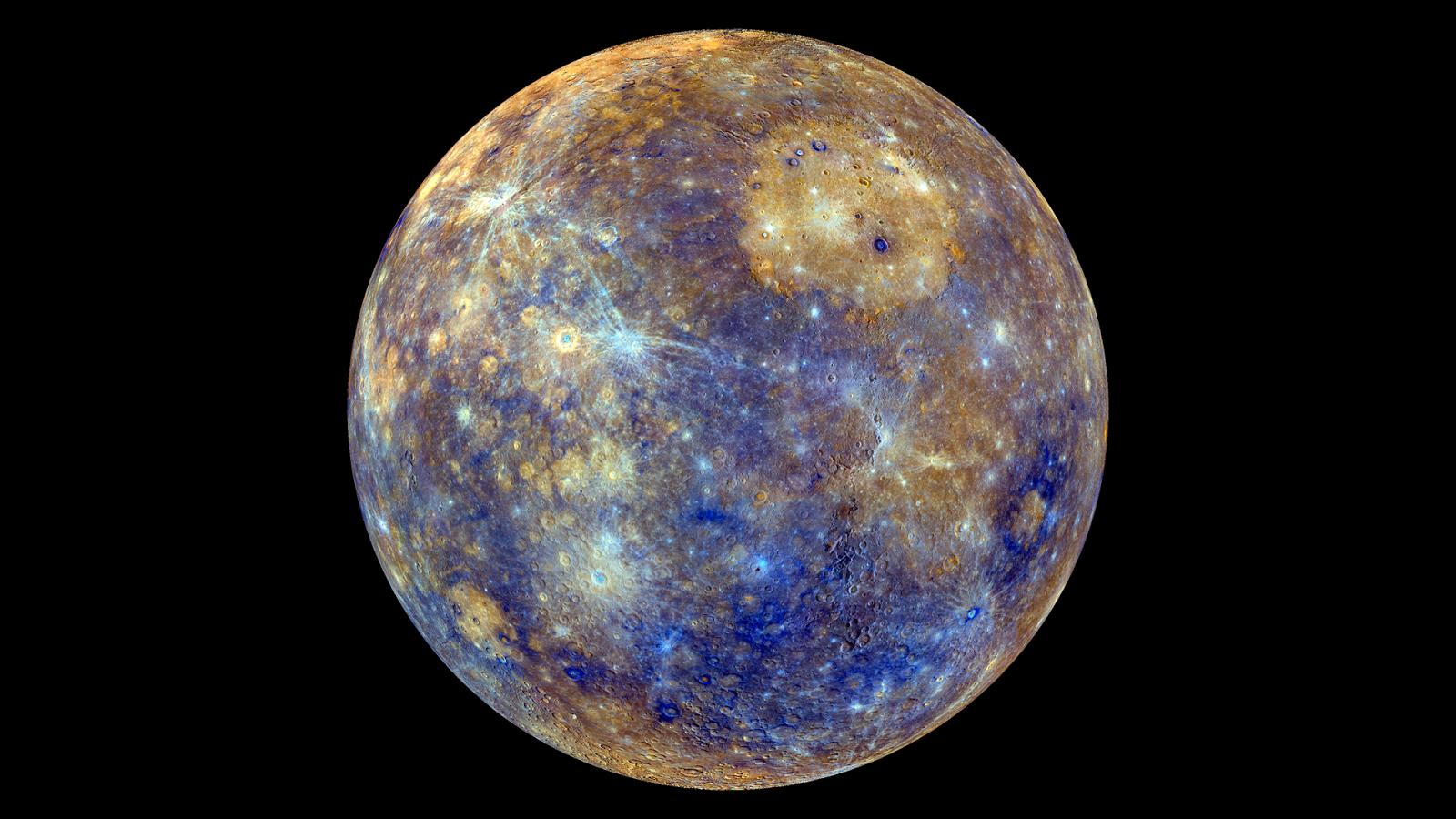 Thành phần địa chất bề mặt sao Thủy được hé lộ qua thông tin gửi về từ tàu vũ trụ