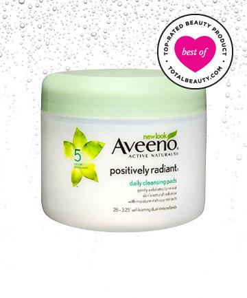 Aveeno Positively Radiant Daily Cleansing Pads, loại mỹ phẩm giá rẻ cho làn da sáng khỏe rạng rỡ sau 7 ngày sử dụng