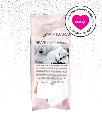 Josie Maran Bear Naked Wipes Loại giấy tẩy trang hoàn toàn tự nhiên cho làn da trở nên nhẹ nhàng, tươi mới