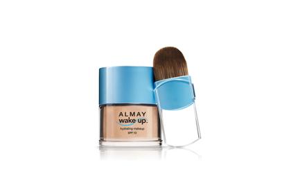 Foundation: Almay Wake-Up Hydrating Makeup SPF 13, mỹ phẩm giá rẻ, chất lượng tuyệt vời cho bạn gái làn da tươi sáng, mềm mịn hơn