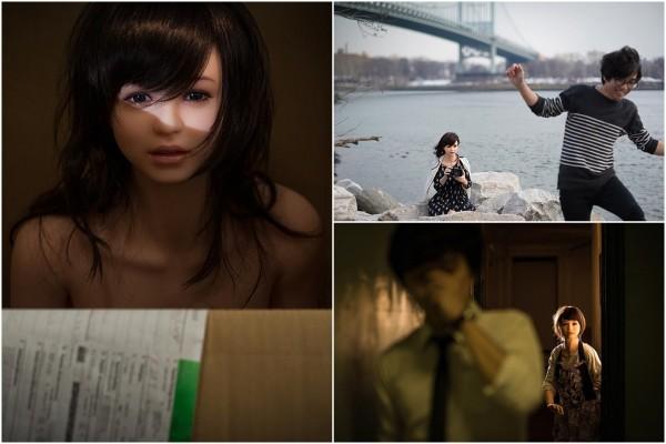 Vừa qua, một nhiếp ảnh gia Hàn Quốc đã thực hiện bộ ảnh được tái hiện như một câu chuyện xung quanh một anh chàng bình thường sống chung với công nàng búp bê của mình.