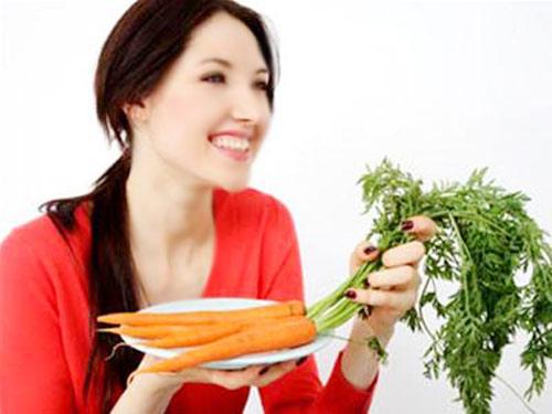Cà rốt được coi là bí quyết làm đẹp để trị tàn nhang