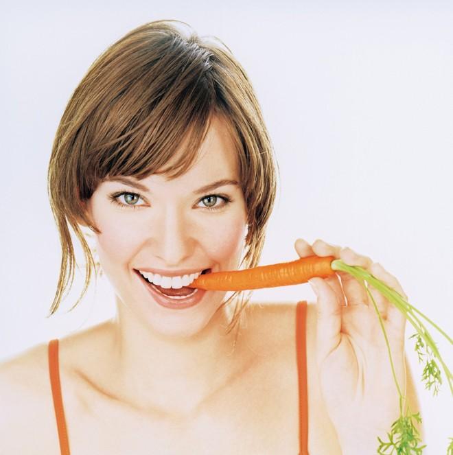 Bí quyết làm đẹp với cà rốt có thể làm mờ vết sẹo