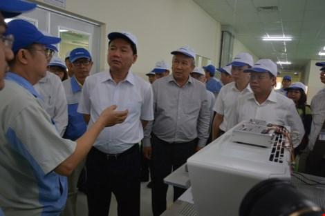Bí thư Đinh La Thăng yêu cầu xã hội hóa đầu tư cho khoa học công nghệ